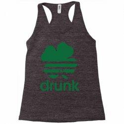 st patricks day drunk Racerback Tank | Artistshot