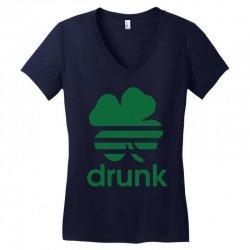 st patricks day drunk Women's V-Neck T-Shirt | Artistshot