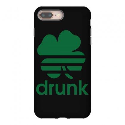 St Patricks Day Drunk Iphone 8 Plus Case Designed By Mdk Art