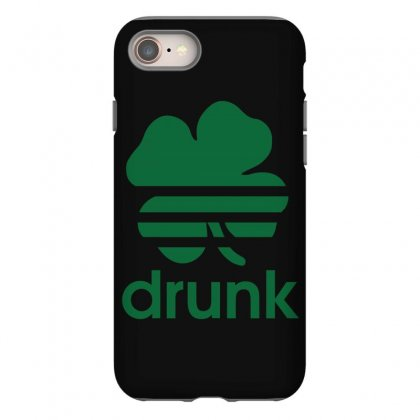St Patricks Day Drunk Iphone 8 Case Designed By Mdk Art