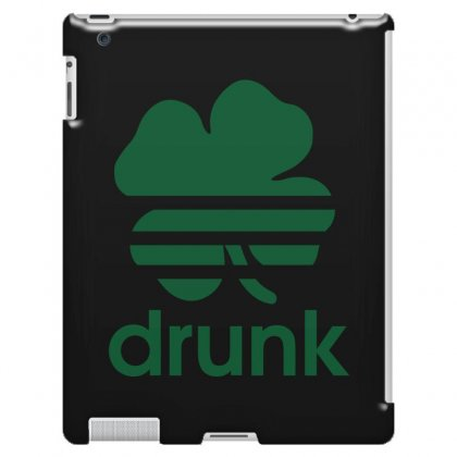 St Patricks Day Drunk Ipad 3 And 4 Case Designed By Mdk Art