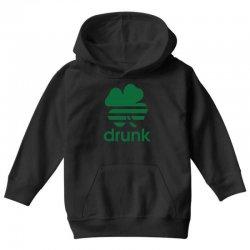 st patricks day drunk Youth Hoodie | Artistshot