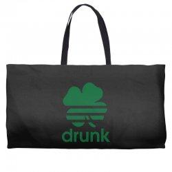 st patricks day drunk Weekender Totes | Artistshot