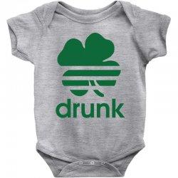 st patricks day drunk Baby Bodysuit | Artistshot