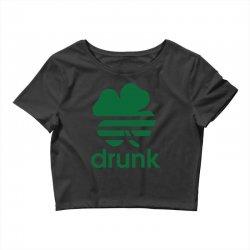 st patricks day drunk Crop Top | Artistshot