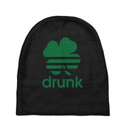 st patricks day drunk Baby Beanies | Artistshot