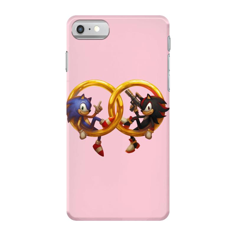 Sonic And Shadow Iphone 7 Case. By Artistshot