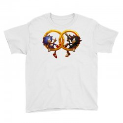 Sonic and Shadow Youth Tee | Artistshot