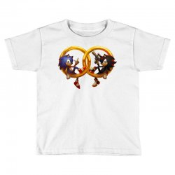 Sonic and Shadow Toddler T-shirt | Artistshot