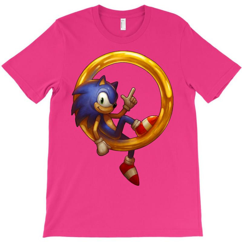 Custom Sonic The Hedgehog T Shirt By Mdk Art Artistshot