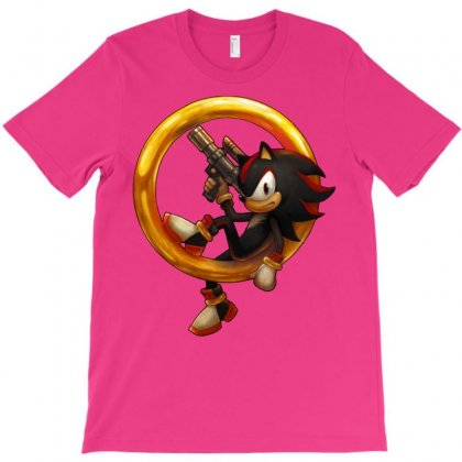 Shadow The Hedgehog T-shirt Designed By Mdk Art