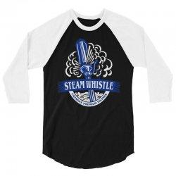 steam whistle 3/4 Sleeve Shirt | Artistshot