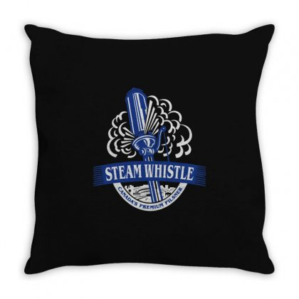 Steam Whistle Throw Pillow Designed By Mdk Art