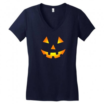 Halloween Women's V-neck T-shirt Designed By Rendratedjo