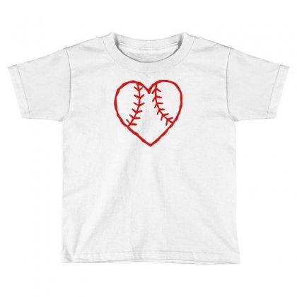 Heart Toddler T-shirt Designed By Rendratedjo
