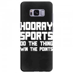 hooray sports do the thing win the points Samsung Galaxy S8 Plus Case | Artistshot