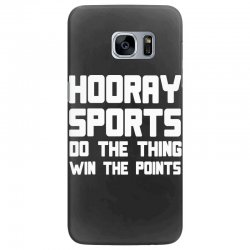 hooray sports do the thing win the points Samsung Galaxy S7 Edge Case | Artistshot