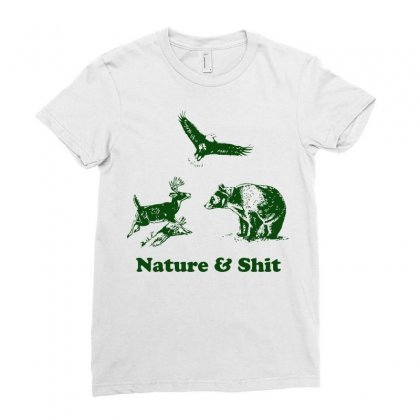 Nature Ladies Fitted T-shirt Designed By Rendratedjo