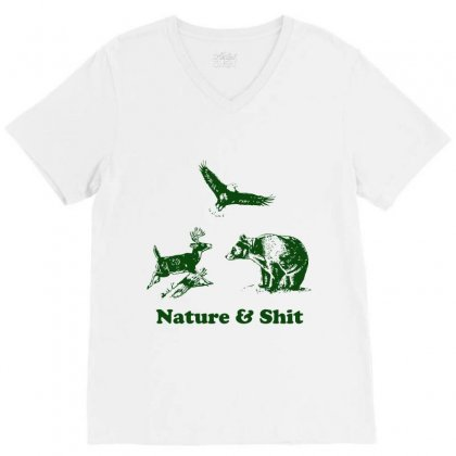Nature V-neck Tee Designed By Rendratedjo