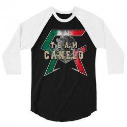 team canelo   mexico 3/4 Sleeve Shirt   Artistshot