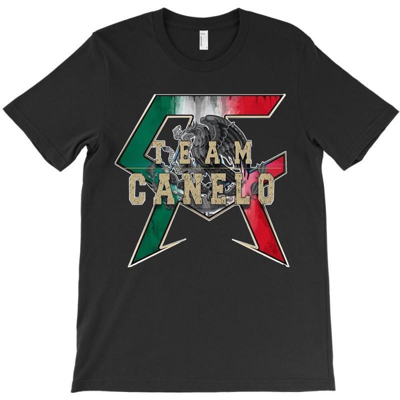 Team Canelo   Mexico T-shirt   Artistshot