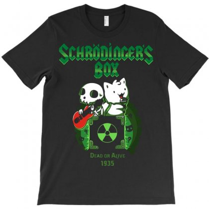 Schrodinger's Box T-shirt Designed By Rendratedjo