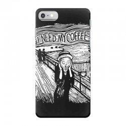 scream for coffee iPhone 7 Case | Artistshot