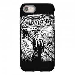 scream for coffee iPhone 8 Case | Artistshot