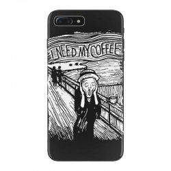 scream for coffee iPhone 7 Plus Case | Artistshot