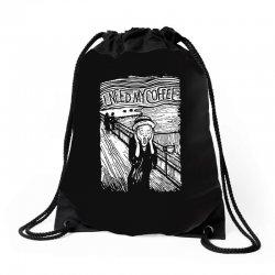 scream for coffee Drawstring Bags | Artistshot