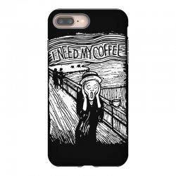 scream for coffee iPhone 8 Plus Case | Artistshot