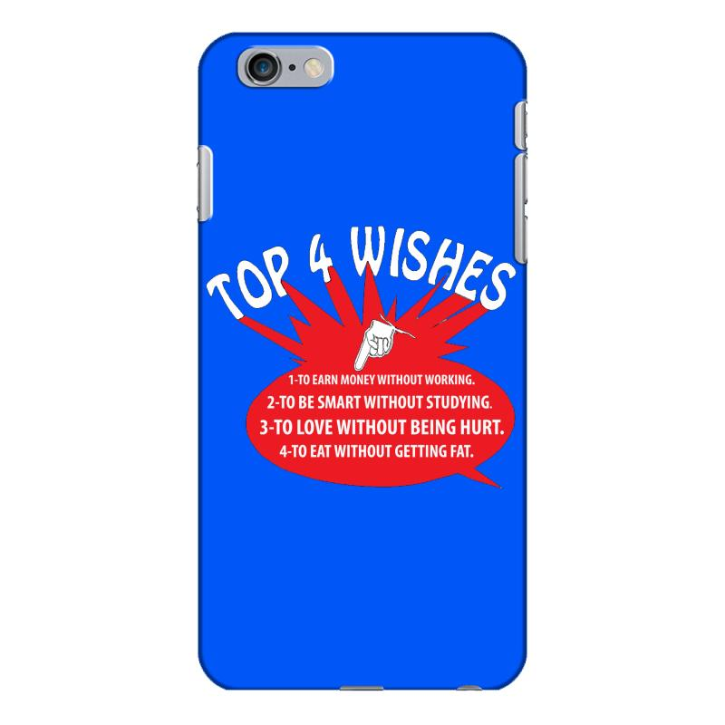 save off 9430a bb13c Top 4 Wishes Iphone 6 Plus/6s Plus Case. By Artistshot