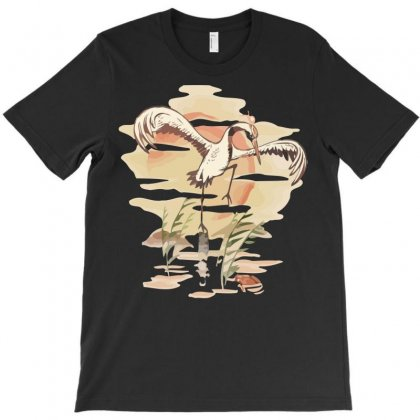 Crane Technique T-shirt Designed By Rendratedjo