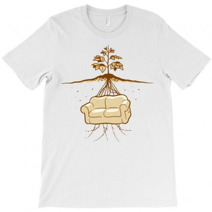 Couch Potato T-shirt Designed By Rendratedjo