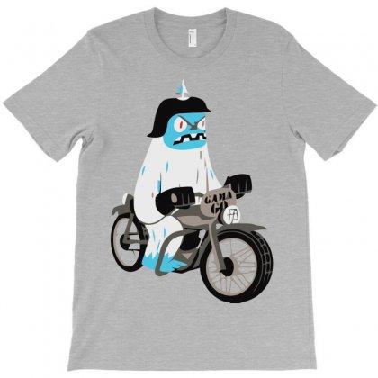 Biker Yeti T-shirt Designed By Rendratedjo
