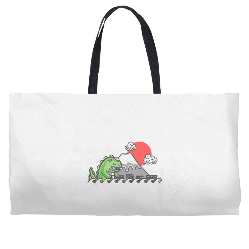 Custom Big Trouble In Small Japan Weekender Totes By Rendratedjo ... d4e1b10a12997