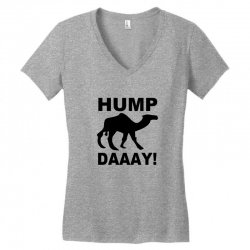 hump day Women's V-Neck T-Shirt | Artistshot