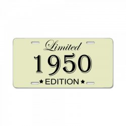 limited edition 1950 License Plate | Artistshot