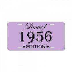 limited edition 1956 License Plate   Artistshot