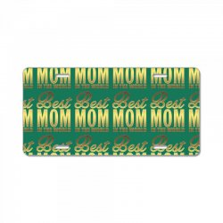Best Mom In The World License Plate | Artistshot