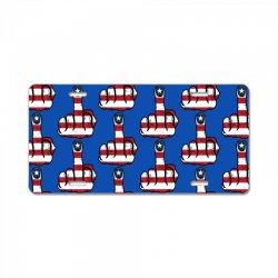 Middle Finger USA Flag License Plate | Artistshot