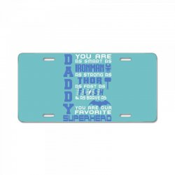 DADDY - Fathers Day - Gift for Dad License Plate | Artistshot