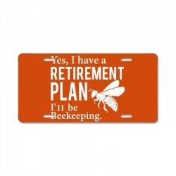 Yes I have a Retirement Plan License Plate | Artistshot