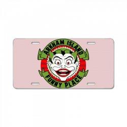 funny place License Plate   Artistshot