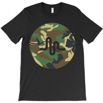 Musically Camo T-shirt Designed By Mdk Art