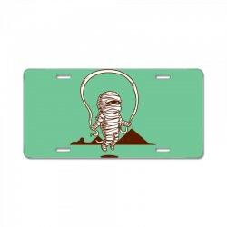 Funny Mummy Sport License Plate | Artistshot
