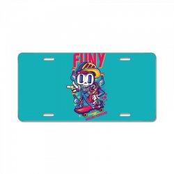 funny skate License Plate | Artistshot