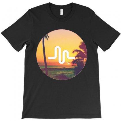 Musically Holiday T-shirt Designed By Mdk Art