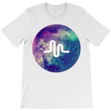 Musically Space T-shirt Designed By Mdk Art