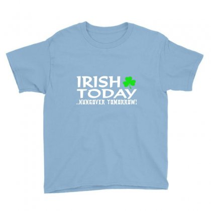 Irish Today Youth Tee Designed By Hntllc